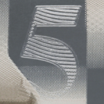 Embossed Numeral